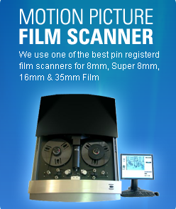 Pin Registered Pro HD 2K 4K Professional Film Scanning for